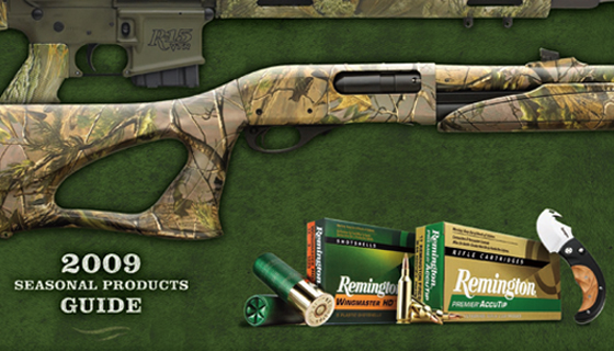 Remington 2009 Seasonal Products Guide